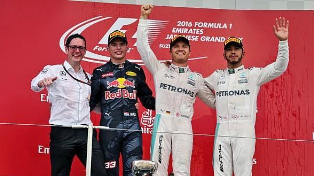 罗斯博格F1日本站夺第8场冠军