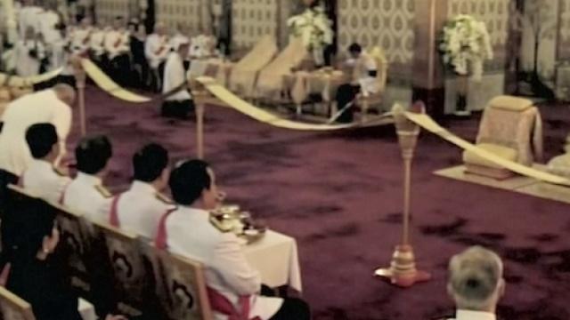 现场:泰国国王葬礼