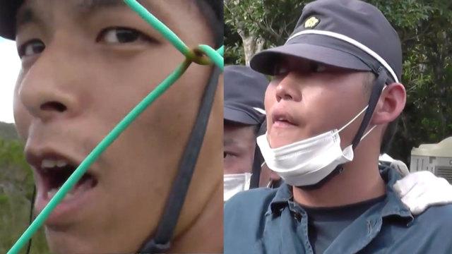 日本警察怒怼冲绳民众:闭嘴支那人