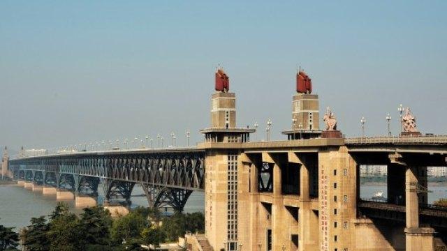 19岁哨兵眼中的南京长江大桥