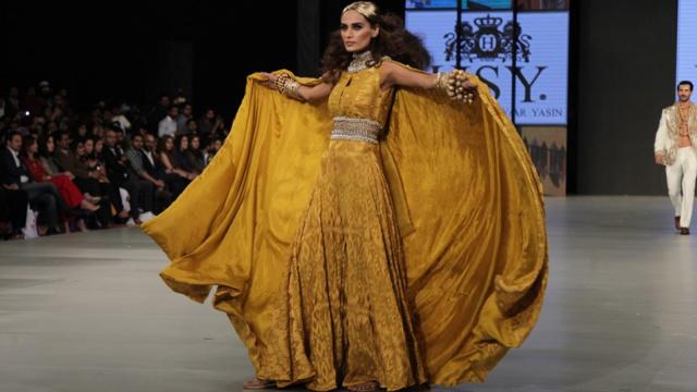 巴基斯坦的时装周是啥样的