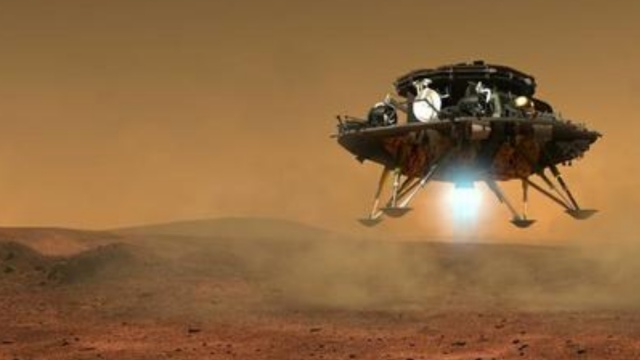 4年后访火星?探测器模型亮相航展