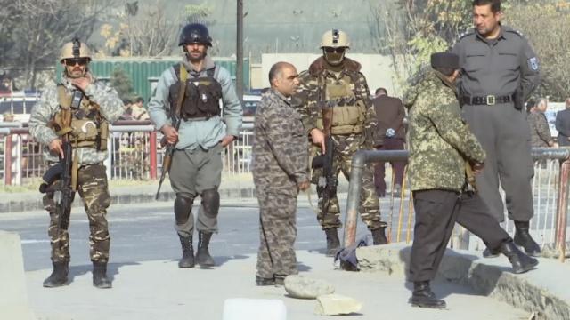 阿富汗首都发生自杀式爆炸 4人死亡