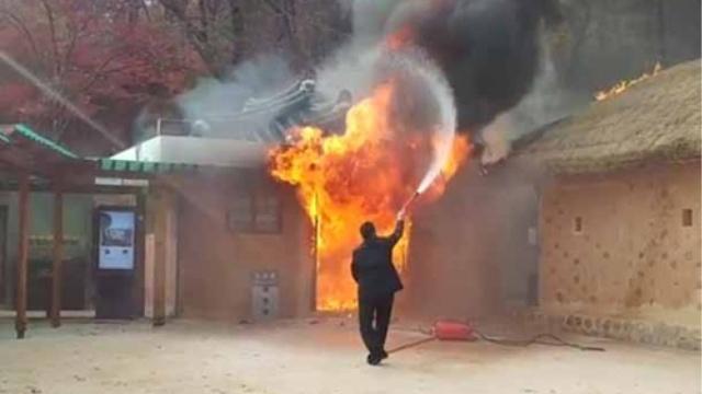 朴槿惠父亲故居遭纵火