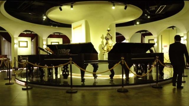 大开眼界!全球最大的钢琴博物馆