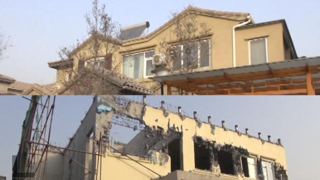 北京业主拆378平别墅建911平,赔了