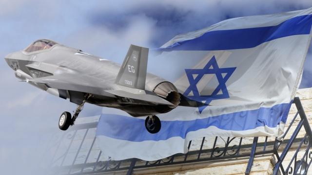 直击:F-35战斗机首现以色列