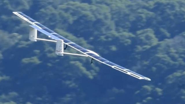 测霾神器来了!太阳能飞机首飞成功