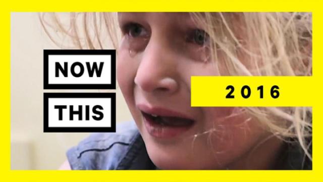 盘点2016年叙利亚受到伤害的孩子们