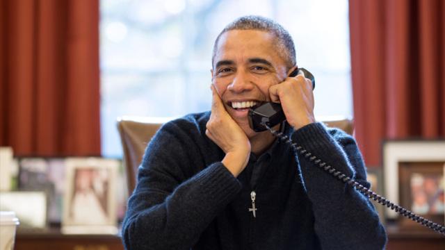 奥巴马深情翻唱贾斯汀比伯