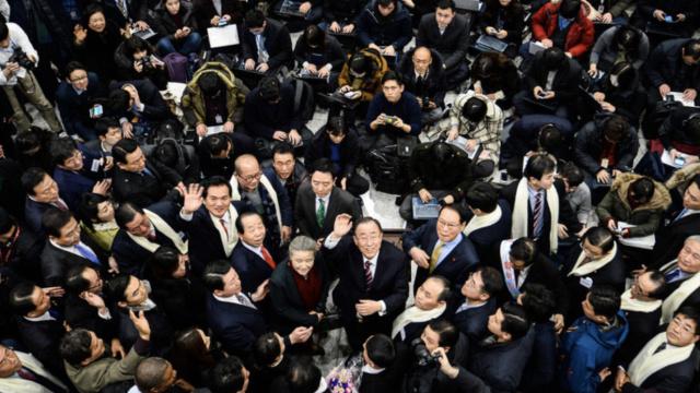 潘基文返韩:我以身报国的心意未改