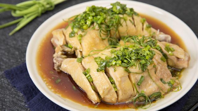 美味葱油鸡腿