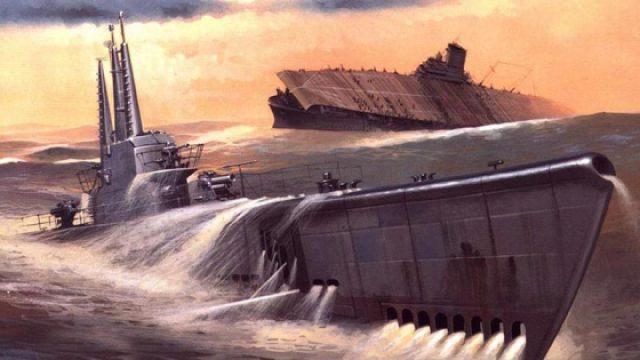 为什么要在潜水艇外面安装大炮?