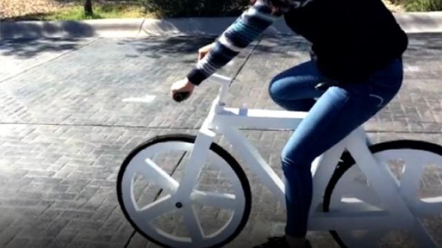 这可能是全世界最环保的自行车
