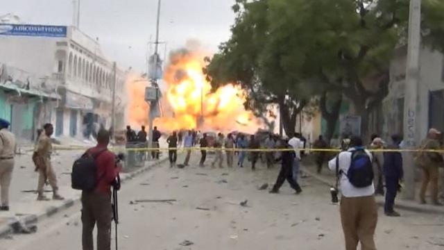 索马里酒店发生爆炸,至少13人死亡
