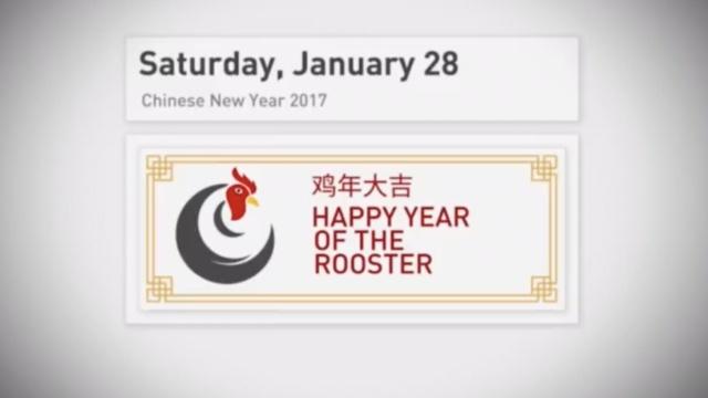 CGTN北美台用各国公鸡语言给您拜年