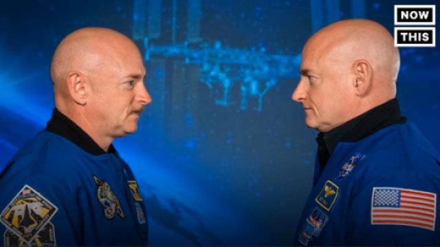 双胞胎宇航员实验探索太空生物学