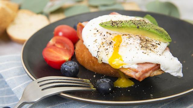 美味早餐水波蛋