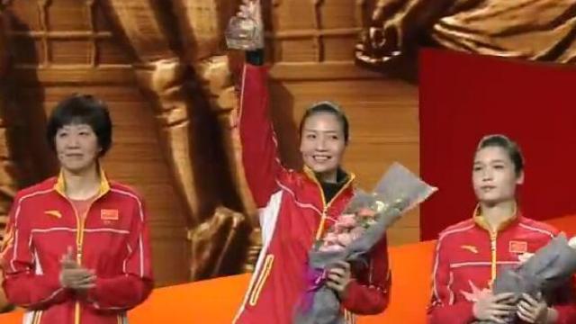 感动中国特别致敬奖颁给了中国女排