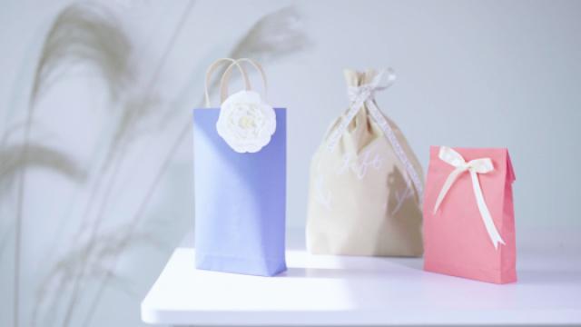 情人节 独一无二的礼品袋