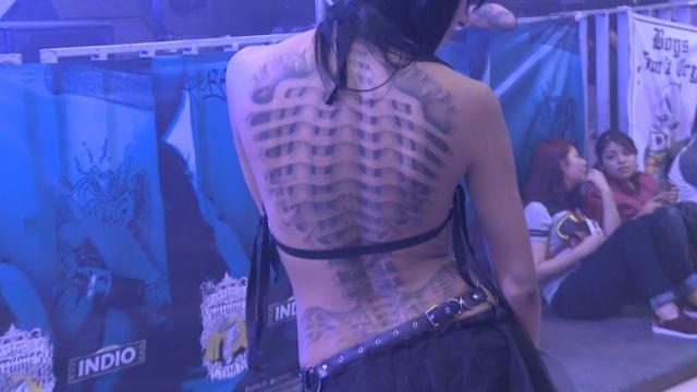 世界纹身大会上都有什么奇葩纹身?