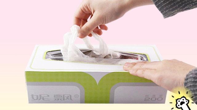 教你塑料袋的机智收纳法