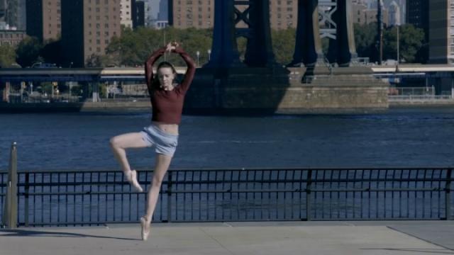 没有蓬蓬裙的城市芭蕾一样美如画