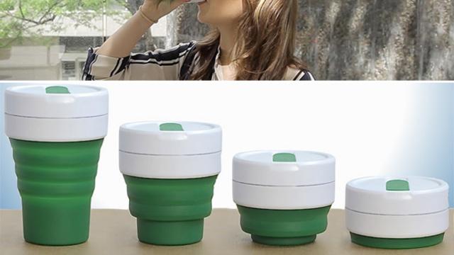 5个设计 | 能压扁的咖啡杯