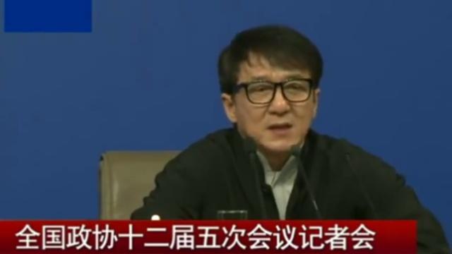 成龙:冲出亚洲为中国人的身份自豪