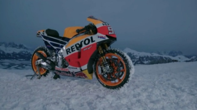 摩托车中的战斗机雪地摩托车更炫酷