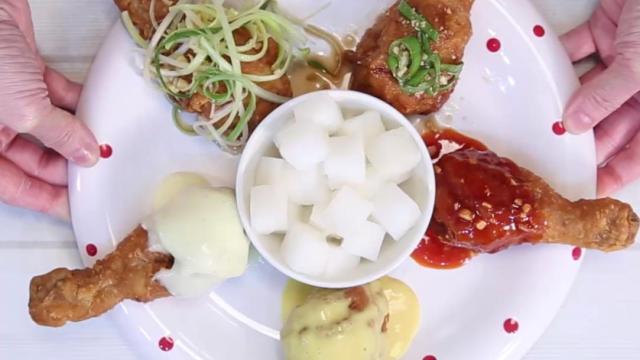 一个周末,吃遍世界出名的炸鸡