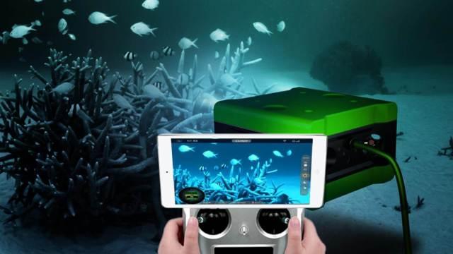 用4k分辨率拍摄水下世界的机器人