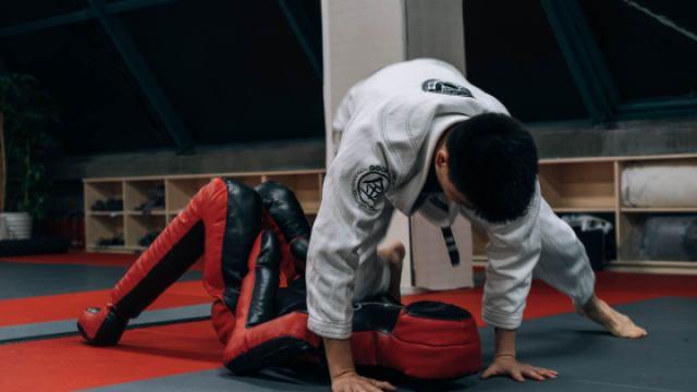 巴西柔术假人道具训练-降服技