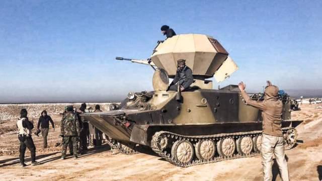 奇葩欢乐多!叙利亚战场的DIY武器