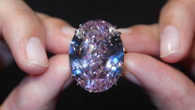 新纪录!59.6克拉钻石拍出5.5亿