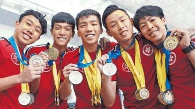 人体缝纫机!中国香港跳绳队逆天秀