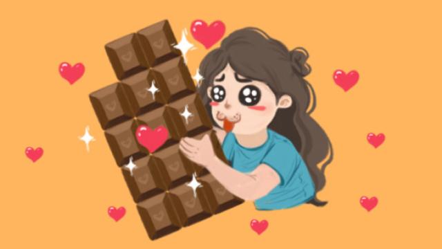 纯黑巧克力对身体有什么好处?