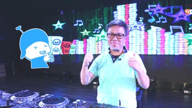 晓松现场变身DJ,嗨到不能自己!