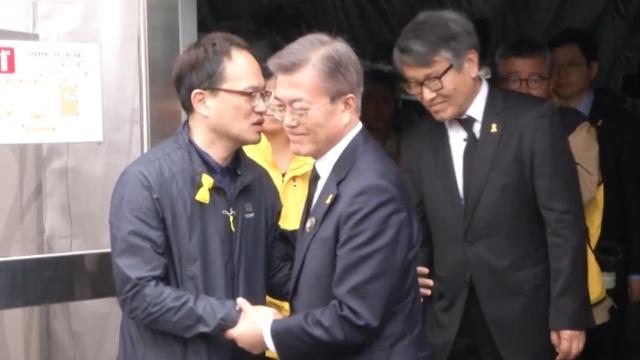 韩国民望新总统上台调查世越号事故