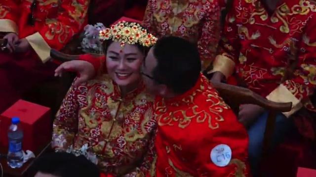 阿里集体婚礼,马云:爱是做出来的