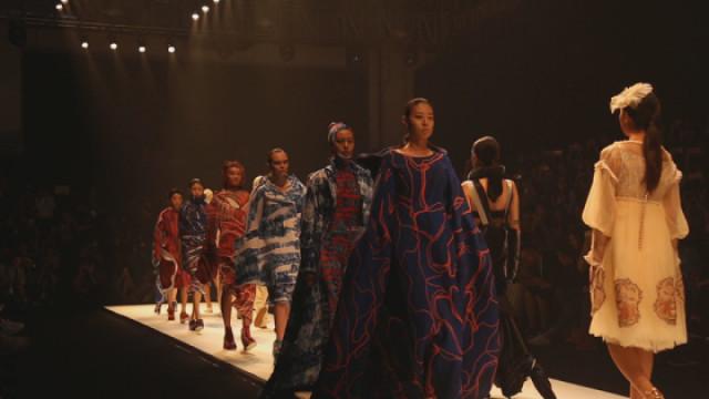 杭州国际时装周开幕 造型谁家强