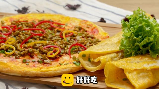 自制美味煎饼果子,超级简单!