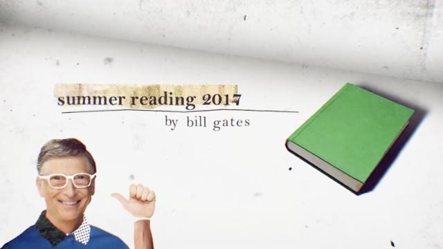 这些书是比尔盖茨最近在读的