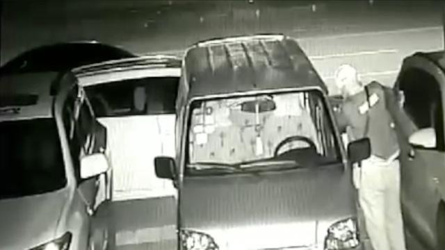 他弹弓打车玻璃,盗香水给女友过520
