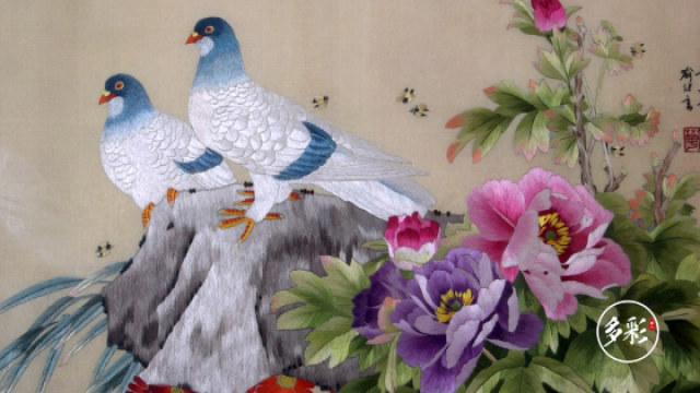 中国刺绣文化她们一直在传承的路上
