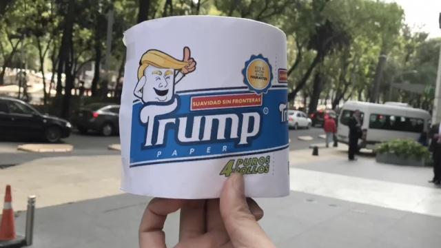 墨西哥要推川普牌厕纸,想不想用?