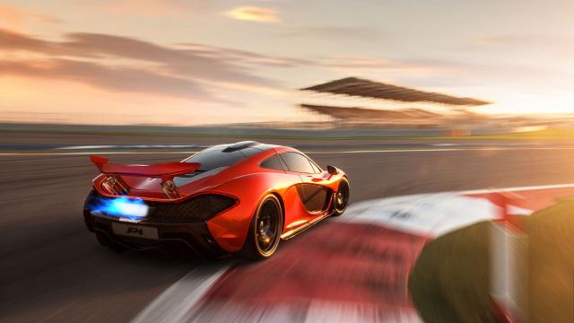 迈凯伦旗下最快的公路跑车P1