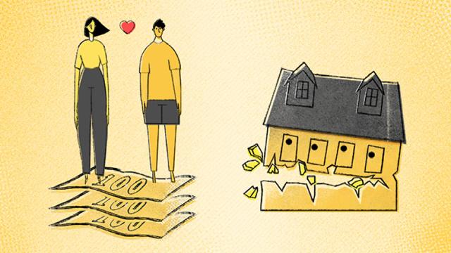 你赚多少敢和女友一起住?