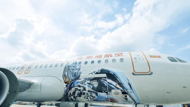欢迎登机!全球首架『变形金刚号』