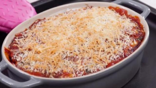 烤千层茄子,茄子的另类酷吃法!
